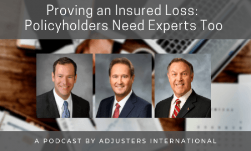 Proving an Insured Loss: Policyholders Need Experts Too! Thumbnail Image